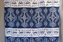 Ikat cloth/weaving