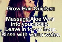 growing your hair