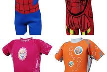 TWF Disney and Marvel Wetsuits and Shoes