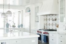 White Kitchens / by Studio41 Home Design Showroom