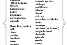 Eat Seasonal - February / Eat Seasonal - recipes using fruit, vegetables, meat and fish that are in season in February.