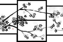 Nature art / Sumi-e, art. More pictures at www.pechane.com. Enjoy!