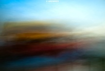 Abstract Impressionistic photography prints by Alexei Rebrov / impressionism art, minimalism, minimalistic photo, minimalism photography / by Alexei Rebrov