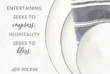 Hospitality as a Way of Life