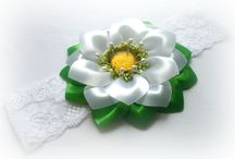 kvety zo stuhy