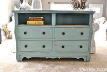5. Repurposed Furniture, etc. / by Terri Brown