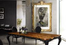 Grey and gold / Dinning room