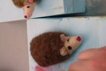 Needle felting / by Kayla Applequist