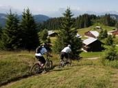 Les Gets - Savoie Mont Blanc / Morzine's little sister, Les Gets reaps the benefits of its neighbouring resort whilst managing to retain its own calm identity, especially in the outlying areas.
