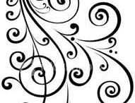 Swirls/spirals/paisley