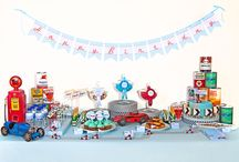 Candy Buffet table ideas / by Melissa Davies Designs