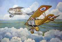 Első világháború repülés