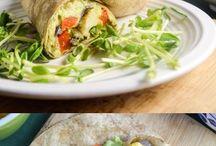 wrap recipe vegetarian / healthy and vegetarian warp recipes