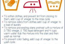 vinegar white washing