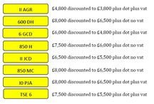 June Special Offer - number plates / June Special offers on Reg Plates