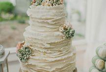 Inspiration - Ruffle Cakes