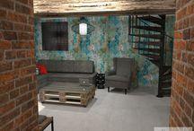 Rekonstrukce starého chléva na byt v industriálním stylu