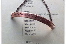 Nerdy By Nature Designs / Handmade jewelry to show your nerdy side! Hamilton: An American Musical, Doctor Who, Star Wars, Harry Potter, Star Trek, Sherlock