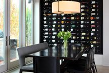 Wall wine rack ideas