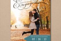 Das Papier / Einladungen, Save the Date, Danksagung, Tischnummern, Menü, Ablauf... und was sonst noch alles auf Papier für den großen Tag verewigt wird.