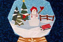 q paperpiecing winter