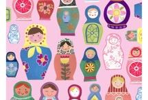 babushka...dolls..:) / by MaeMae Renfrow