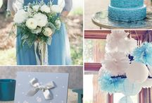 WEDDING IDEES IN BLUE, TURQOISE