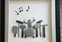pebble art inspirations