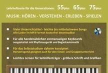 Keyboardlernen für Senioren / Für die Generationen: 55plus - 65plus - 75plus