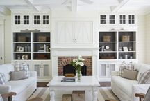 Family Room / design ideas and inspiration for your living room, family room or great room / by Petite Party Studio