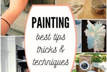 Painting tips and techniques