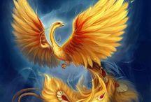 (Fenix) Phoenix Criaturas Mitológicas