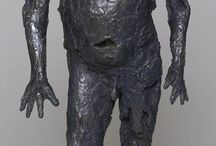 Art / Sculpture - figurative and mainly bronze or clay
