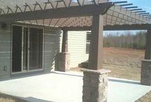 Porches and pergola ideas