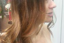 Tão ó o resultado cabelos dourados verão vou fica pretinha!!!