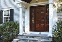 Entry portico