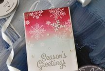 Stampin Up -Snowflake Sentiments