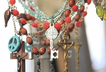 Rosary necklace / by Jane Faraco