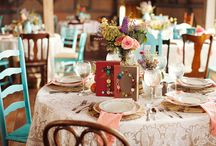 Tablescapes/Dishes / by Frances Barnum
