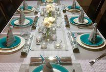 Table settings / Xmas