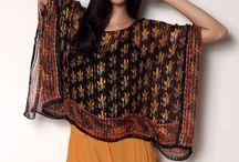 foulard cousu