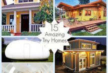 Tiny Homes / Tiny homes are a hot trend here in the US & abroad.  Whether you're interested in down-sizing, lowering your carbon footprint or want an inexpensive option for a 2nd/vacation home...Tiny homes my be the way to go!