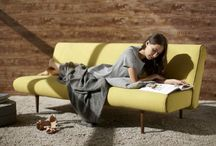 Sofas | INNOVATION / Space saving sofa beds, beanbags and accessories designed for stylish living in small places.