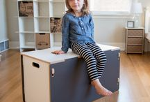 Kids Toy Storage / Your not a Parent if you haven't stepped or tripped over a toy. Here are some creative storage ideas for our beloved children.