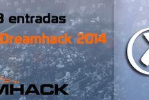 Banner sorteo entradas para la DreamHack / Banner para un sorteo de 3 entradas de la DreamHack en Xferavirtual.com