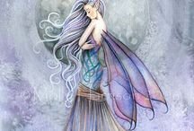 Fairy lovely / Inspiration for art work in a girl's room