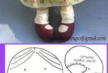 textilbabák
