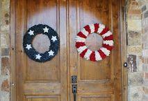 wreaths for double doors *2