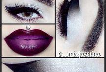 """""""dark"""" makeup"""