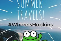 #WhereIsHopkins / Hopkins is packing a bag and ready for adventure! Join Signing Time fans and Signing Time Academy Instructors worldwide as we take Hopkins traveling with us! Grab your official Hopkins Plush or Coloring Sheet from your local Instructor or on our website: http://www.signingtime.com/whereishopkins/ Post pictures of your adventures and don't forget to use the hashtag #WhereIsHopkins / by Two Little Hands Productions